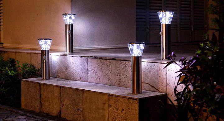 Las 25 mejores ideas sobre lamparas solares para exterior - Apliques solares exterior ...