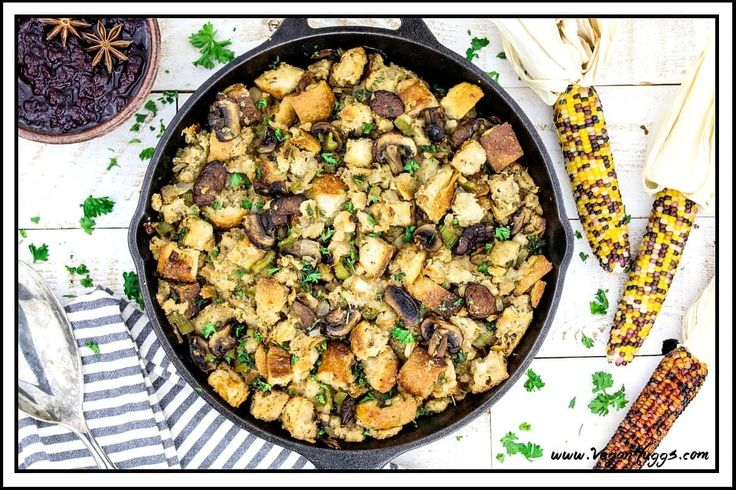 This Vegan Sourdough Bread Stuffing tastes just like a classic stuffing recipe, but with a little twist. The sourdough bread puts a subtle hint of zing in every bite and…