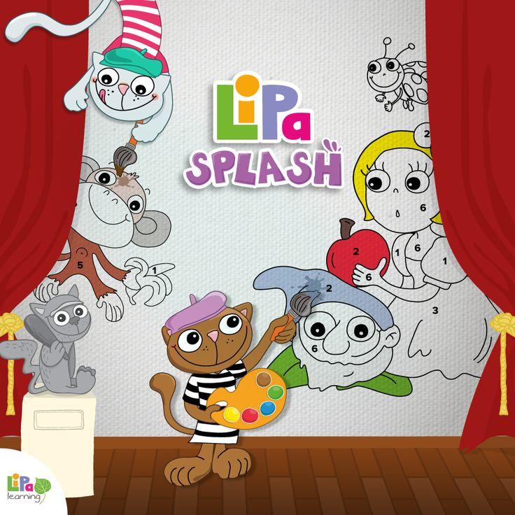 This Easter, Lipa Splash sparks your child's egg-coloring creativity! Let's get artsy! http://www.lipalearning.com/en/game/lipa-splash