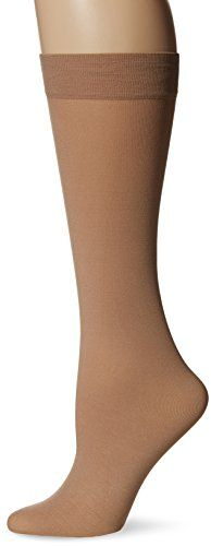 Berkshire Women's Trend Opaque Trouser Socks-Sandalfoot 1 Pair, Nude, One-Size