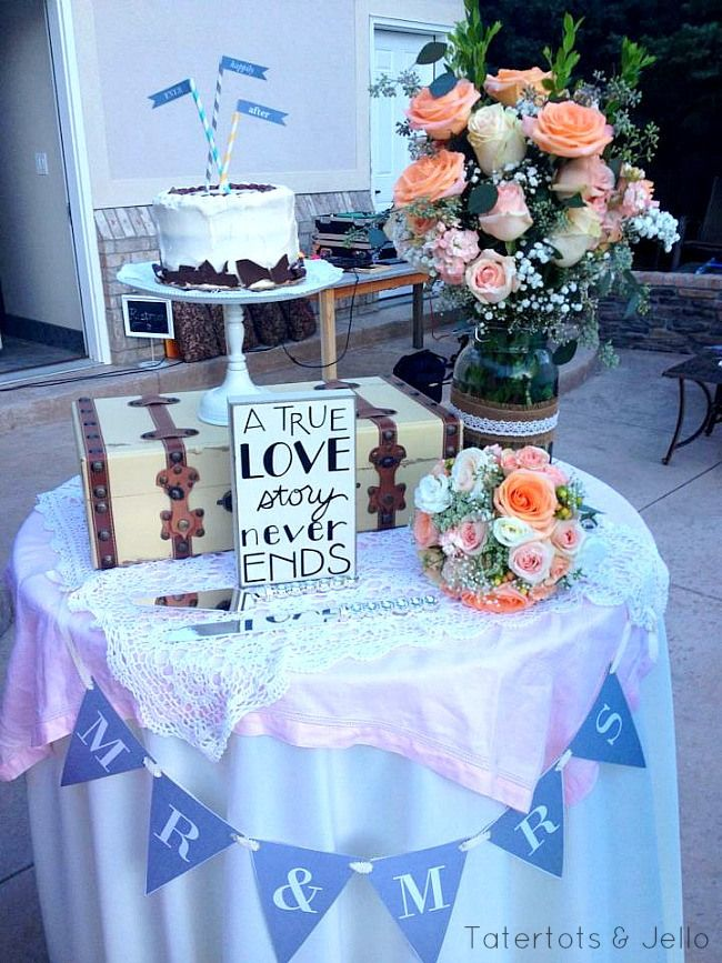 Free Wedding Printable Banners and Signs at Tatertots and Jello