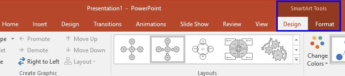 Adding New Shape(s) to Existing SmartArt Graphics in #PowerPoint 2016