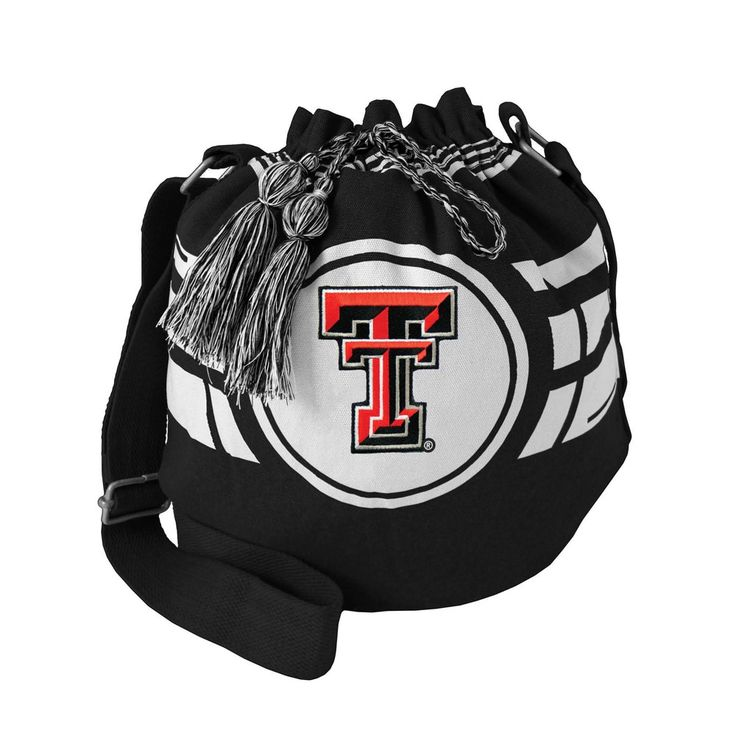Bucket Bags NCAA Texas Tech Red Raiders Team Color Solid