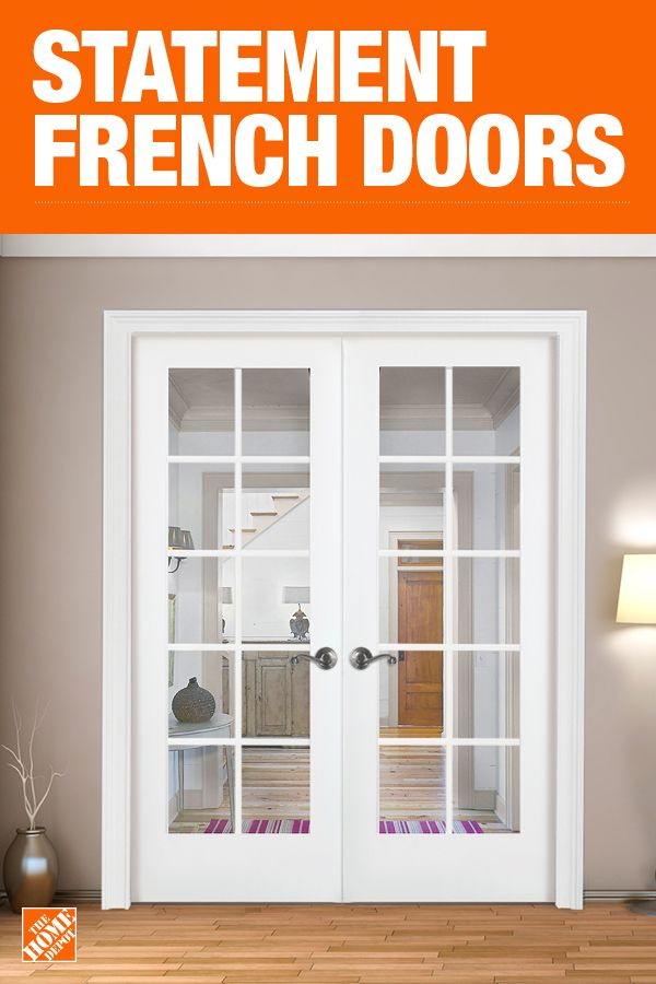The Home Depot Has Everything You Need For Your Home Improvement Projects Click To Learn More And Shop French Doors Interior French Doors Wood Doors Interior