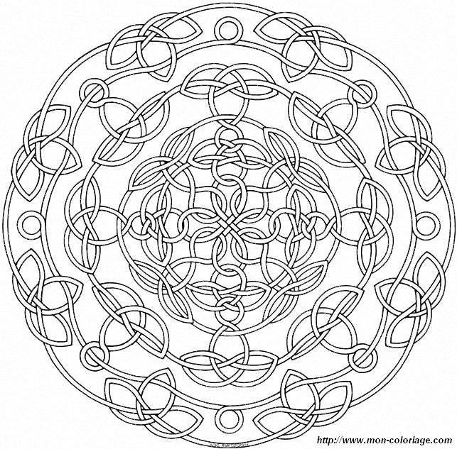 Free Printable Mandala Coloring Pages | picture mandalas mandalas76a95 011