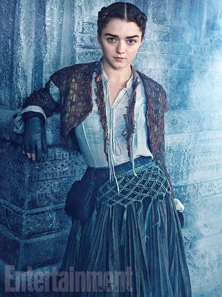'Game of Thrones': Arya's dramatic new look revealed | EW.com