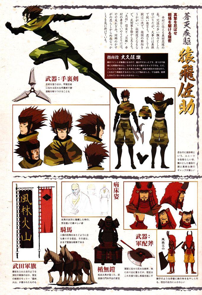 Sarutobi Sasuke, Takeda Shingen, Sengoku Basara