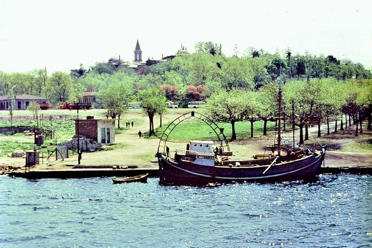 """Sarayburnu (1961?)  #istanbul"""