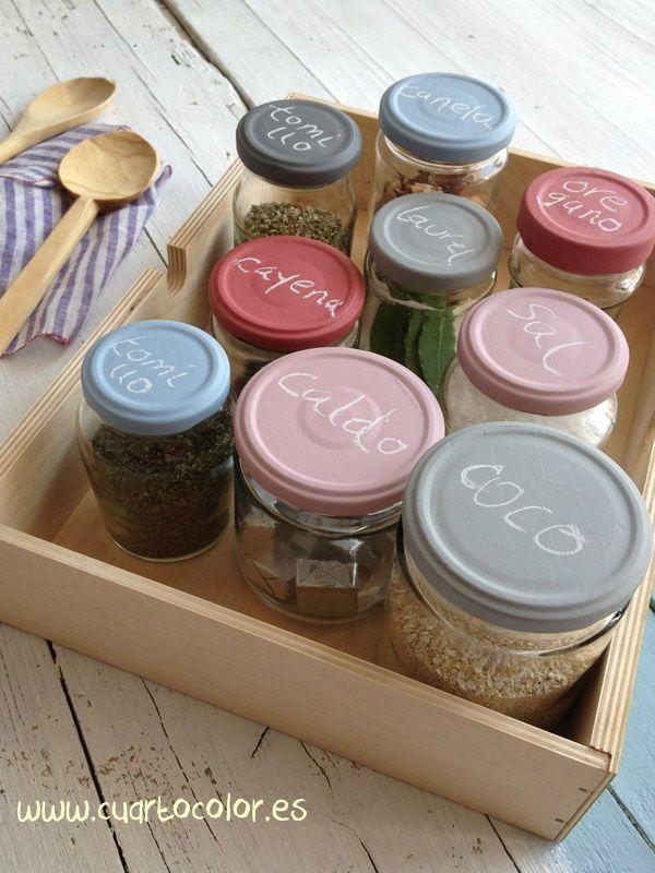 Las 25 mejores ideas sobre tarros de cristal en pinterest - Ideas para reciclar en casa ...