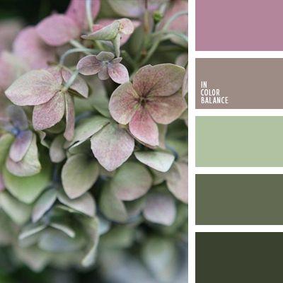 болотный цвет, грязный болотный, зеленый, лавандовый, нежные оттенки лилового, оттенки лилового, оттенки салатового, подбор цвета, салатовый, серый, сиреневый, тёмно-зелёный, тёмно-розовый, темно-сиреневый цвет, темно-фиолетовый, фиолетово-зеленый,