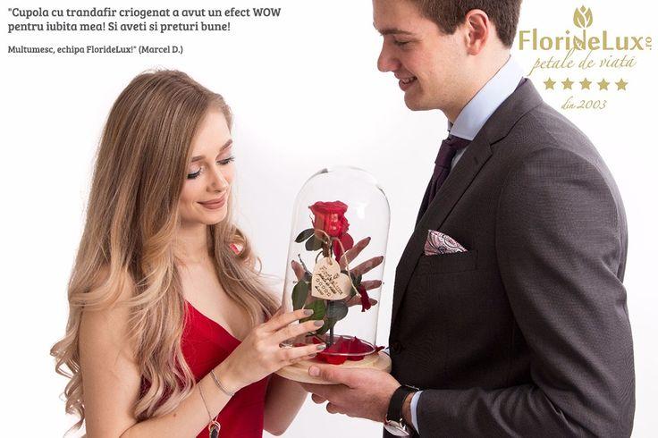 Mai sunt 2 zile pana la Ziua Indragostitilor! Clientii #floridelux sunt cei mai fericiti pentru alegerea facuta si stiu deja ca totul va fi perfect de 14 februarie! Comanda si tu cel mai frumos cadou pentru iubita ta! https://www.floridelux.ro/sfantul-valentin-2018/
