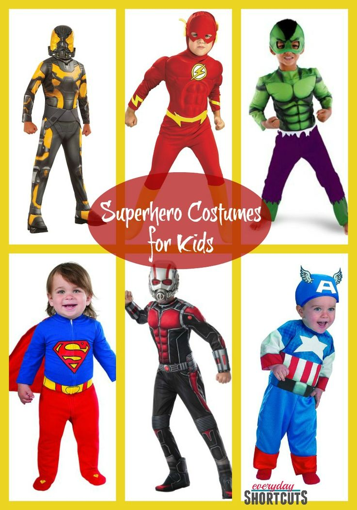 Superhero Costumes for Kids