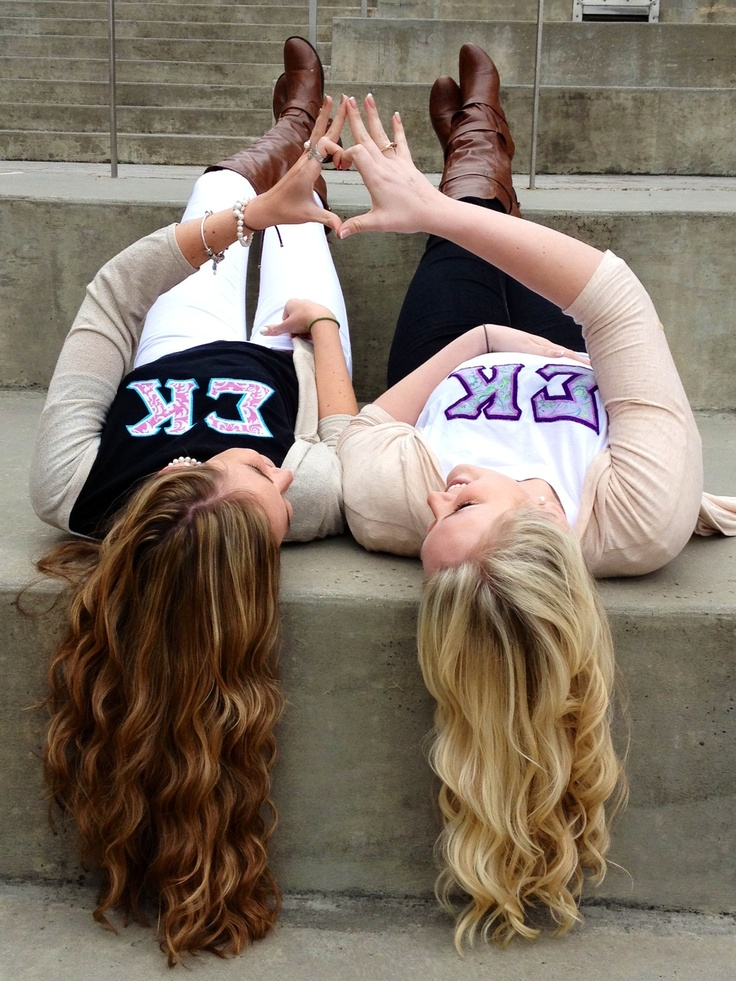 Sigma Kappa Big and Little! Get shirts custom designed to your chapter by College Hill Custom Threads!  #sorority #clothing #sisters