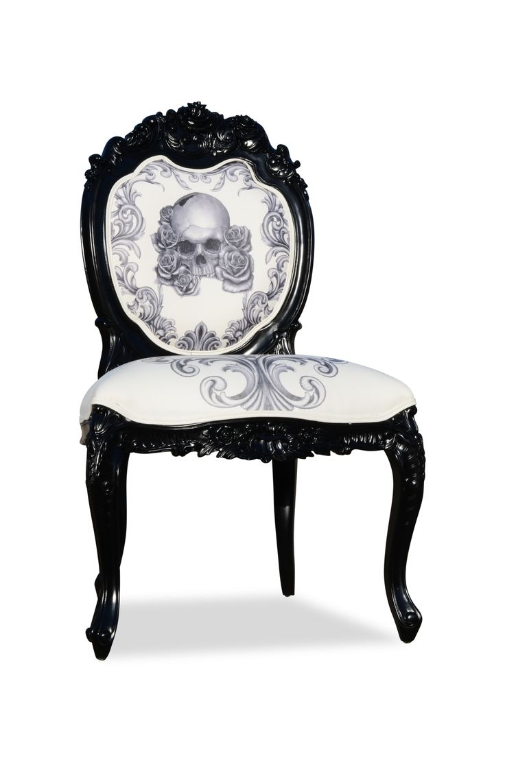 Black skull chair - Skull Chair