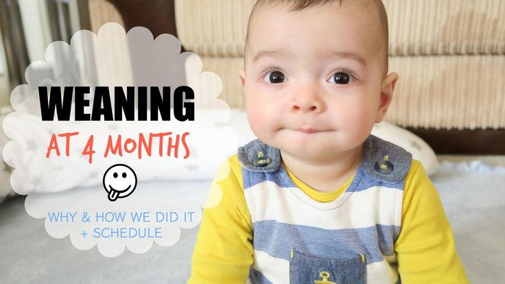 Our experience with weaning our son James onto solid foods at 4 months old, our reasons for doing it, how we did it and our schedule from the start until now...