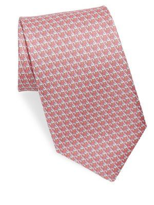 5b237317315c SALVATORE FERRAGAMO Silk Flamingos Tie. #salvatoreferragamo ...