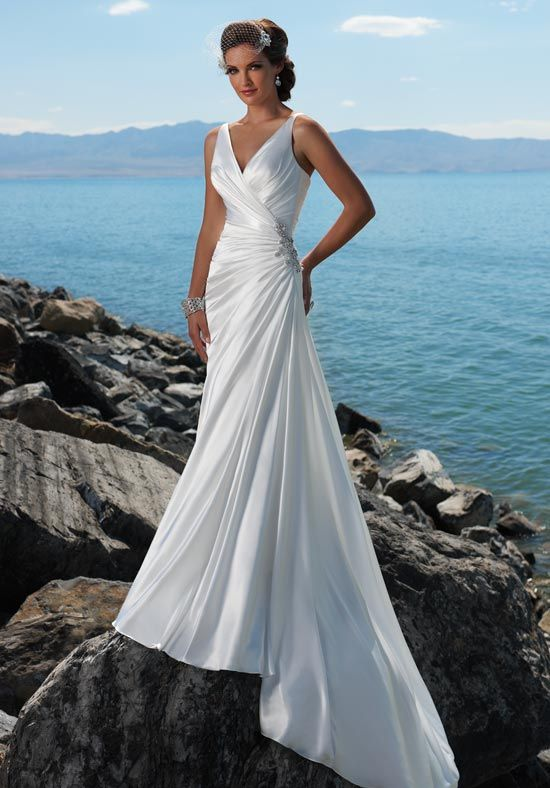 9 best Casual wedding dresses images on Pinterest   Bridal gowns ...