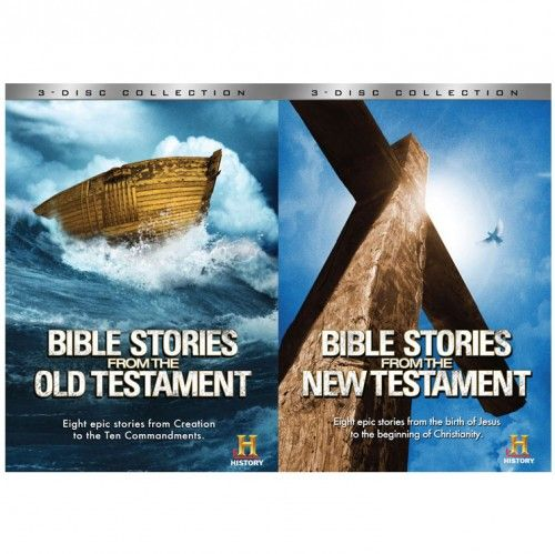 The Bible: Stories From The Old Testament Vol. 1 & New Testament Vol. 2 DVD