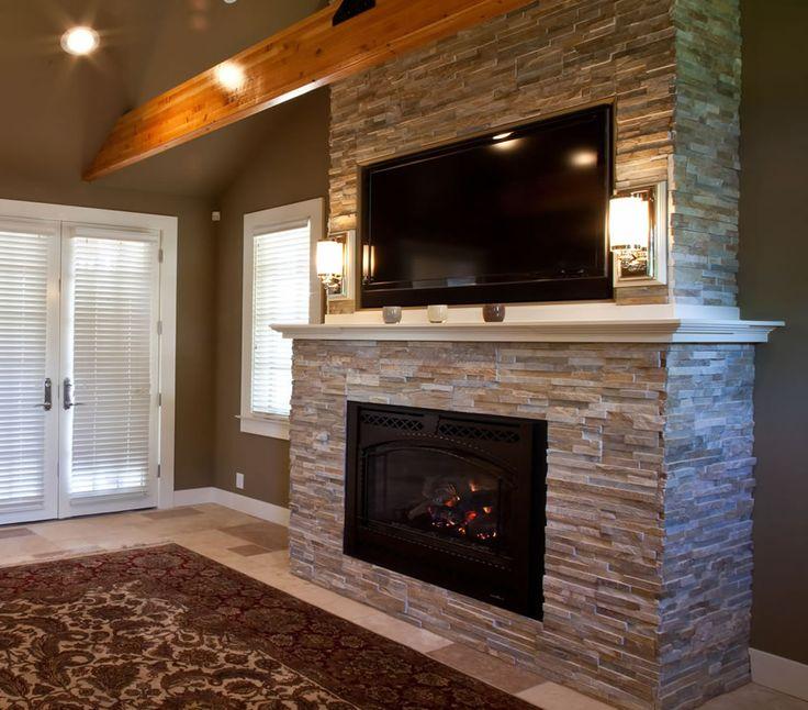 master bedroom fireplace for the home pinterest. Black Bedroom Furniture Sets. Home Design Ideas