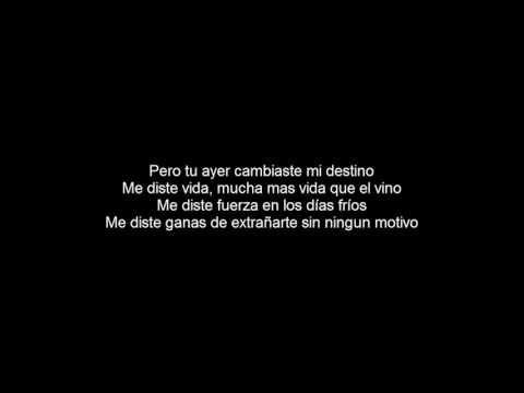 Manuel Medrano - Bajo El Agua (Letra) - YouTube