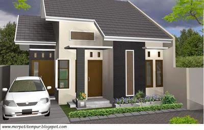 Desain Rumah Modern Type 45 - Rumah Minimalis