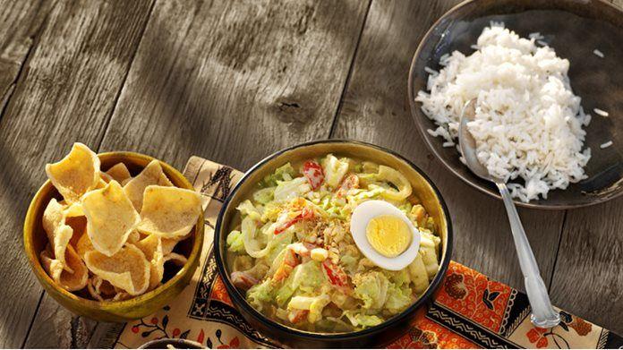 Indonesische Groente Curry met Chinese kool, ei en seroendeng recept - Conimex