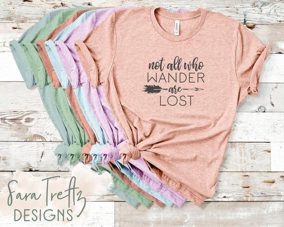 1848781e2 Not all who wander are lost t shirt, boho t shirt, travel shirt, hippie  shirt, bohemian shirt, womens t shirt, graphic tee, gift for her
