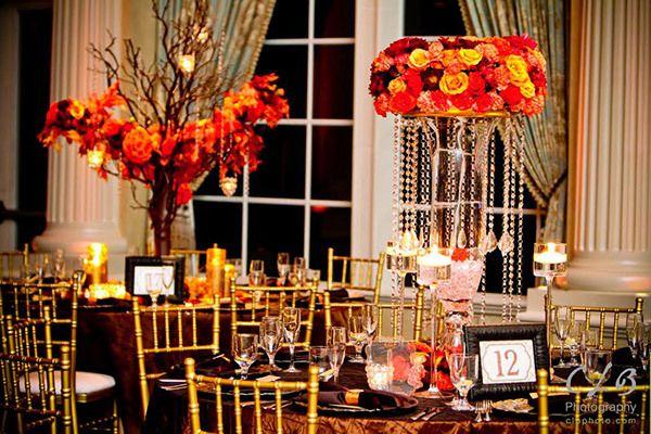 13 best images about orange wedding ideas orange - Yellow and orange wedding decorations ...