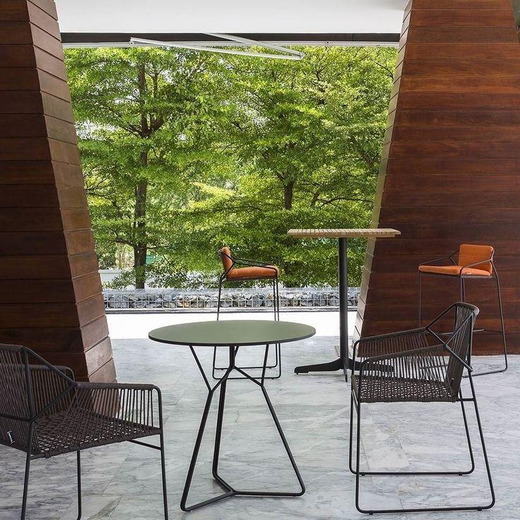 Elegant  stuhl gartenstuhl balkonstuhl tisch gartenm bel sommer terrasse chair summer garden