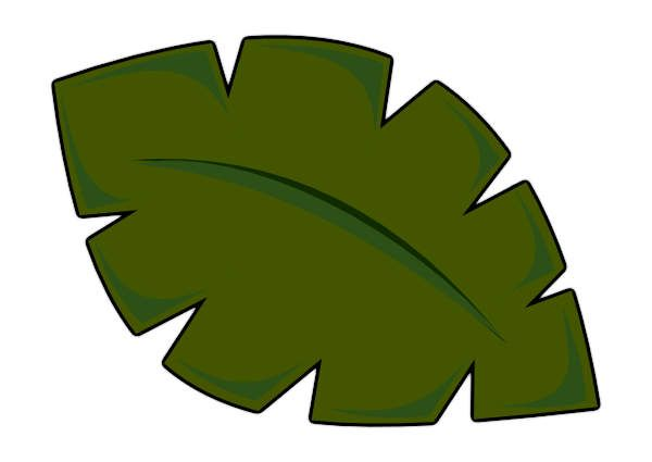 Image result for palm tree leaf template   Leaf template ...