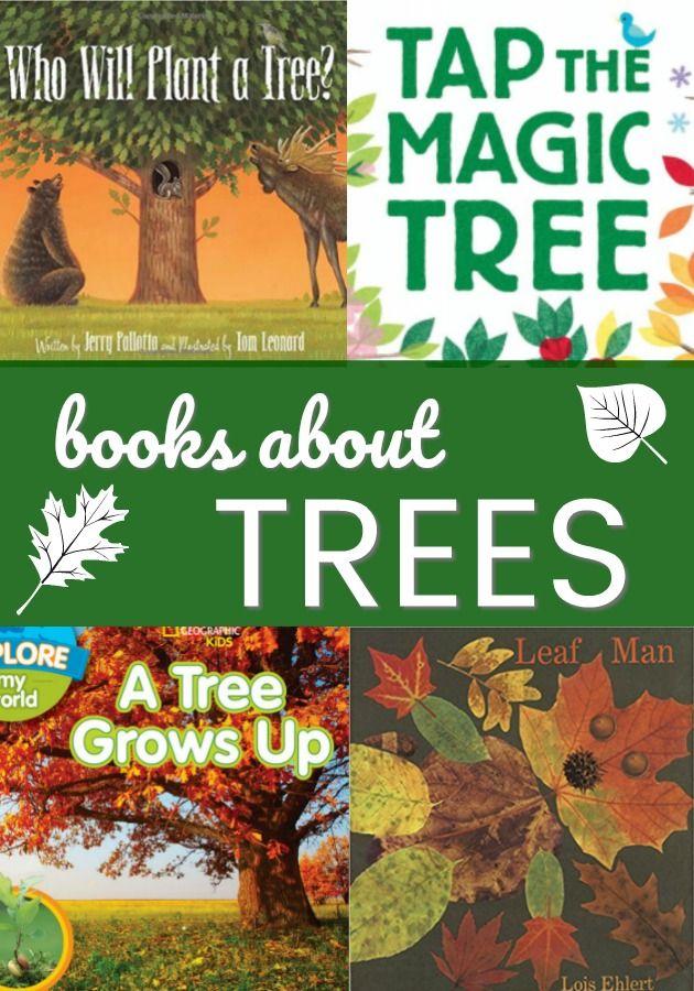 Books About Trees For Preschoolers Pre K Pages Kindergarten Books Preschool Books Tree Study