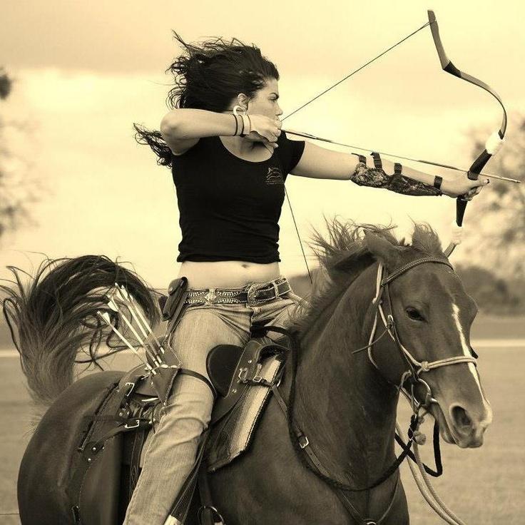 Archery on horseback. Wow. I so am doing this someday @Katie Hrubec Barnett @Diane Haan Lohmeyer Ctshll
