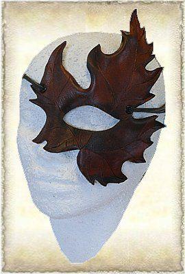 Handmade Leather mask