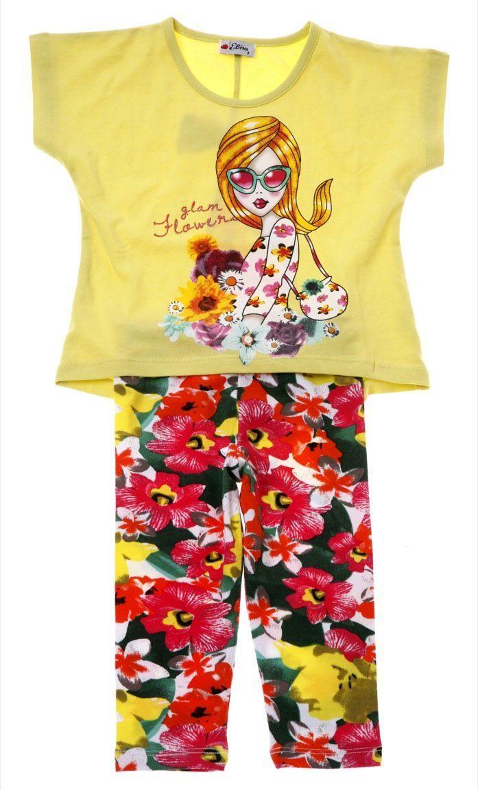 Εβίτα παιδικό σετ μπλούζα-παντελόνι κολάν «Glam Flower»  €12,90