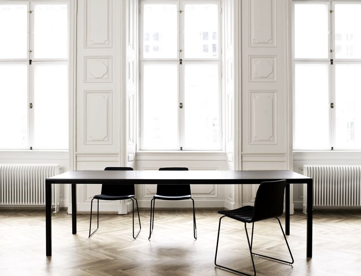 Hay – boligindretning – spisebord - Desktop – Furniture Linoleum – Forbo – interior design –
