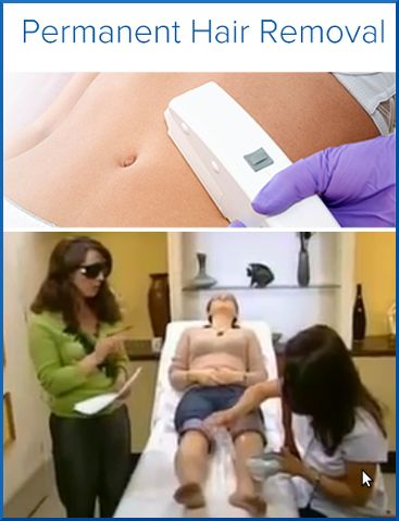 Laser hair removal is the process of removing unwanted hairs by means of using the Cutera laser system, which is one of the top systems in the world, to offer you safe, comfortable and predictable results. We provide a total body hair removing service inc