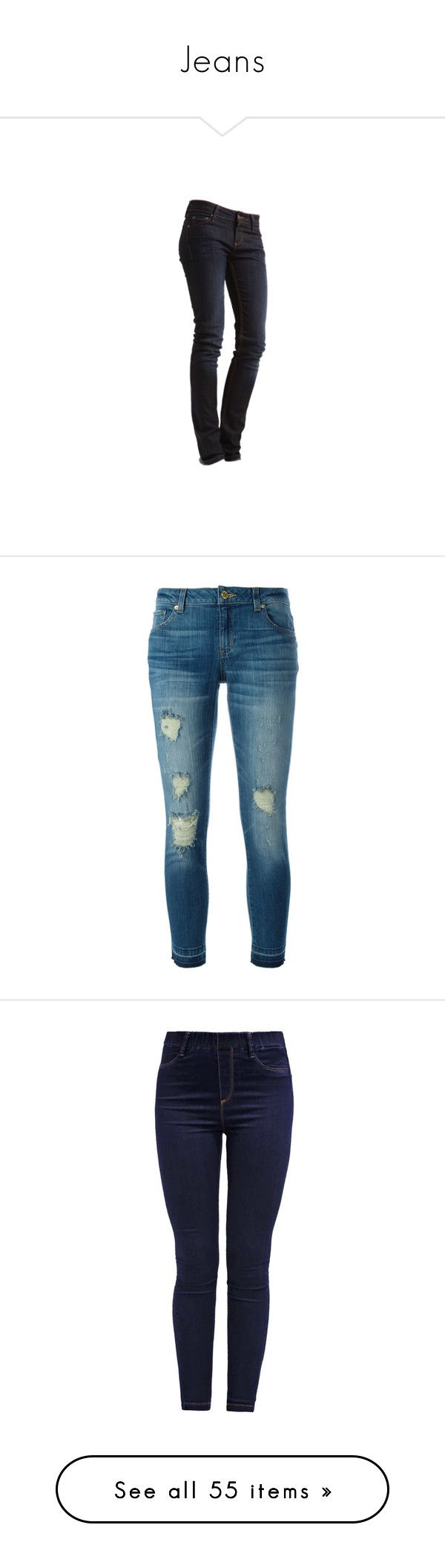 """Jeans"" by alejaborrayo ❤ liked on Polyvore featuring pants, capris, jeans, bottoms, pantalones, blue, zipper trousers, blue capris, helmut lang and cropped capri pants"