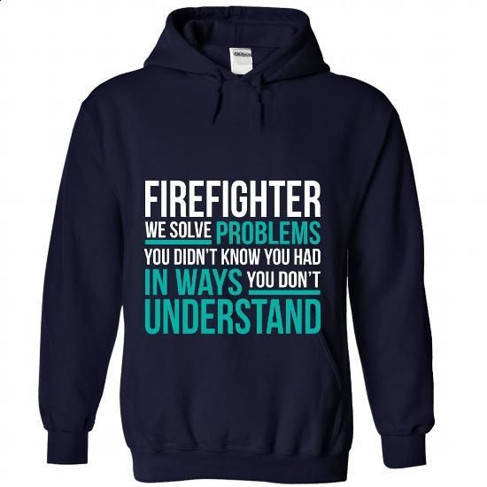 FIREFIGHTER - #women #t shirts online. BUY NOW => https://www.sunfrog.com/No-Category/FIREFIGHTER-4497-NavyBlue-Hoodie.html?60505