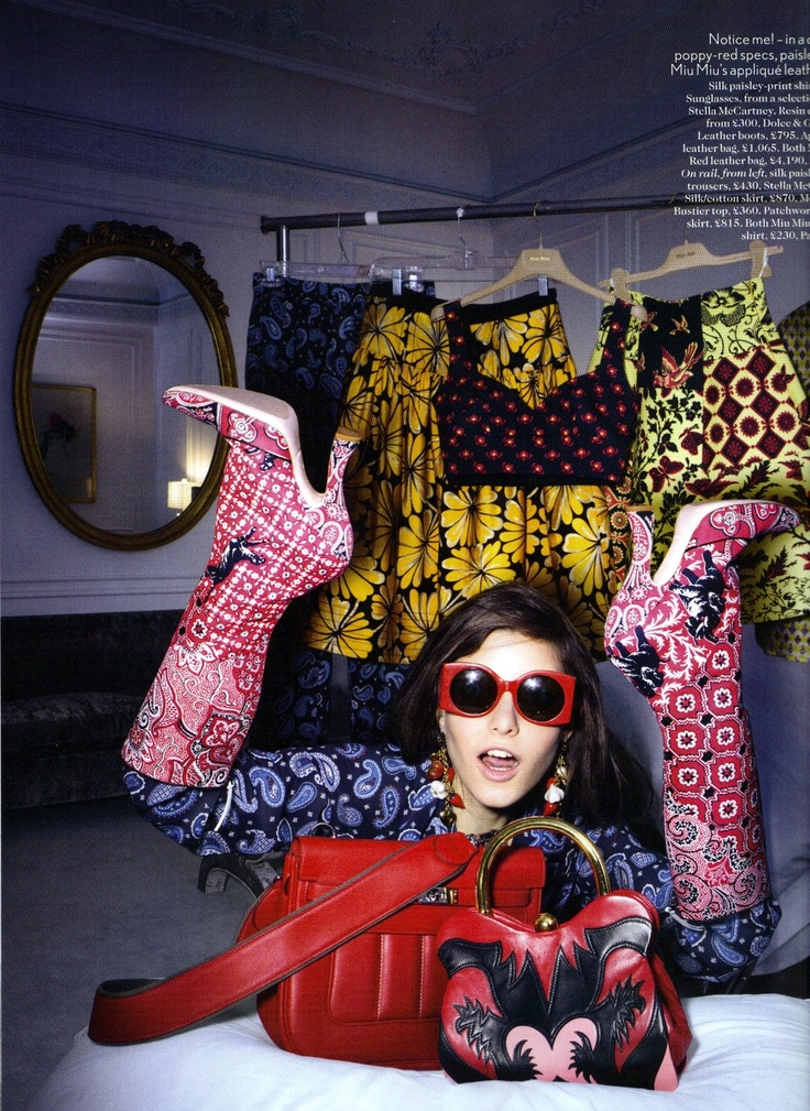 A VOGUE UK EDITORIAL INSPIRED BY BLOGGERS.