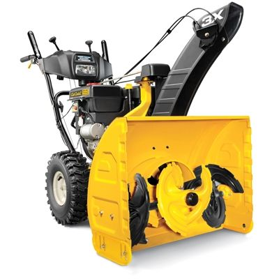 Cub Cadet 277cc 24-in Three-Stage Electric Start Gas Snow Blower with Headlight
