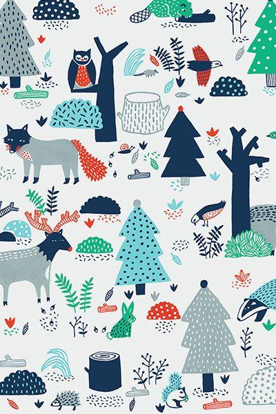 Steffie Brocoli - winter pattern