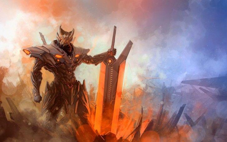 Jarvan Pulse Fire League of Legends Skin A9