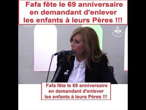 Algérie, Fafa (CNDH) veut enlever les enfants à leurs Papas.لازم محي الم...