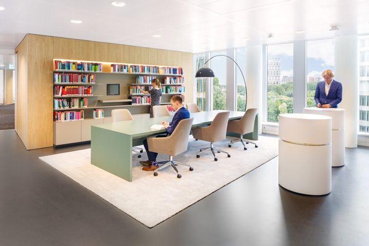 Stibbe office by Fokkema & Partners Amsterdam  The Netherlands