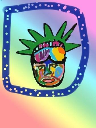"""Patriotic POP Art""  by Alexander"