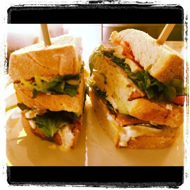 Club sandwich...
