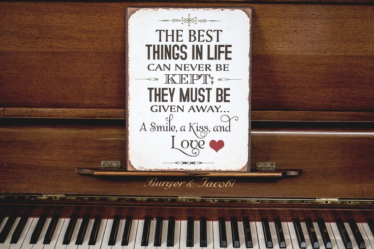 Best things in Life #decor #sign #wisdom #quote