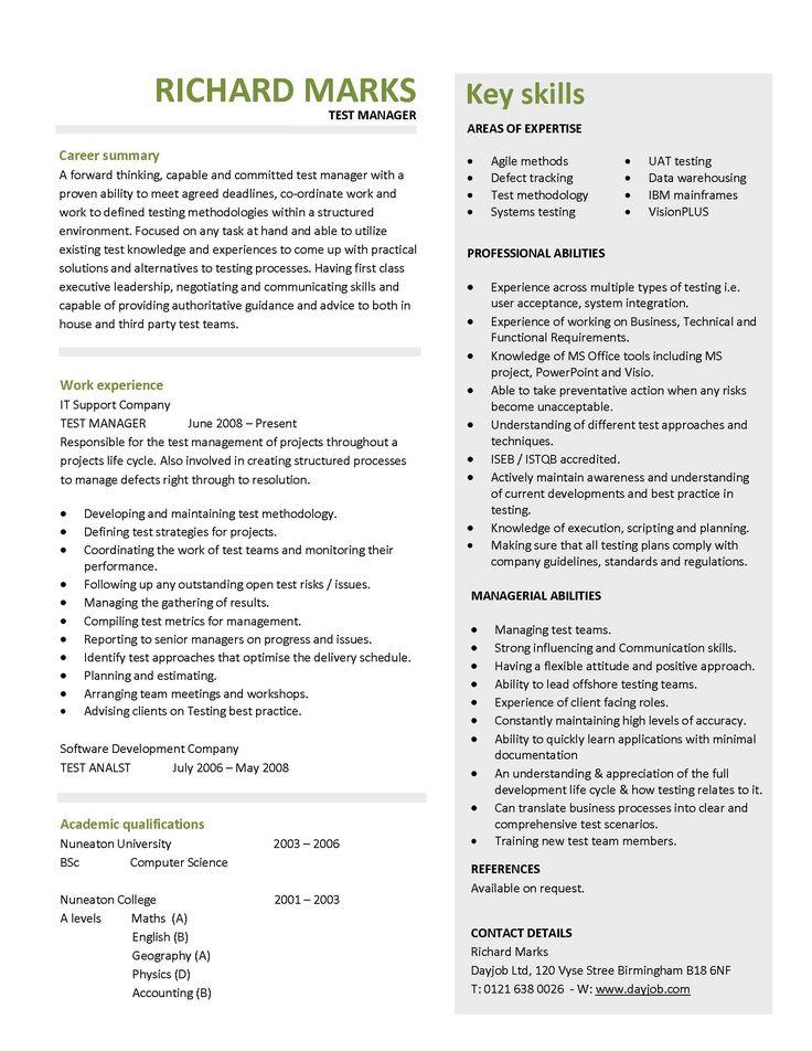 7 best Resume! images on Pinterest Job search, Job interviews - park ranger resume