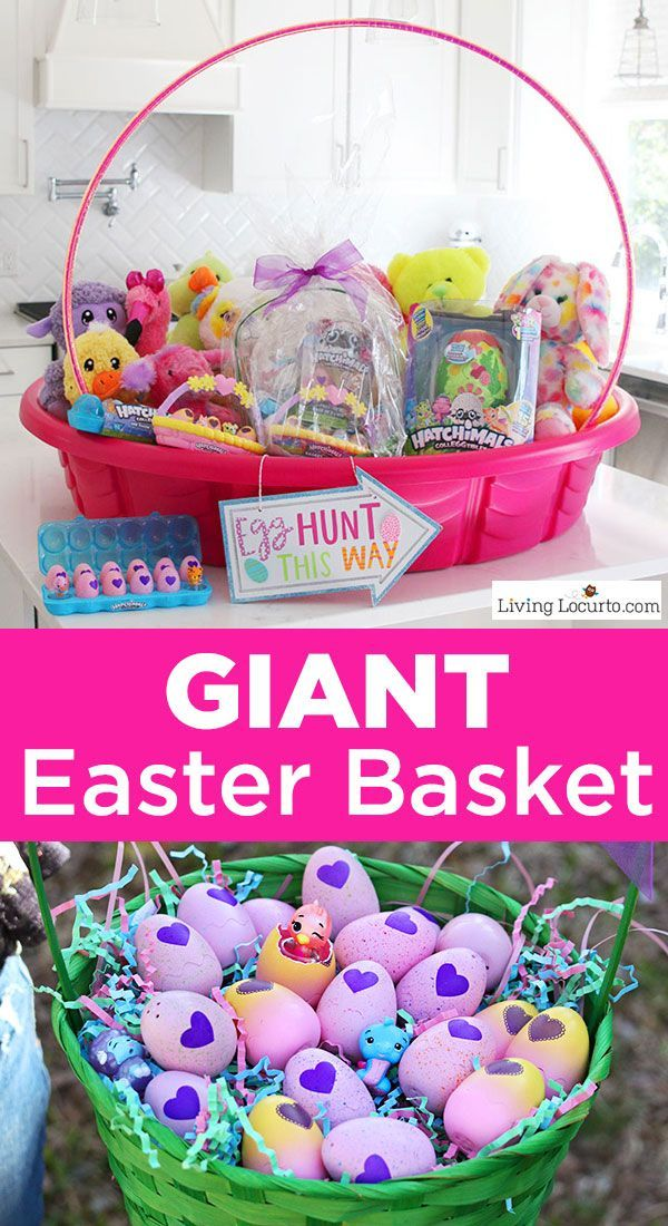 Fun new easter egg hunt ideas and the cutest giant easter basket fun new easter egg hunt ideas and the cutest giant easter basket to inspire you to get creative just in time for easter a diy giant easter basket negle Image collections
