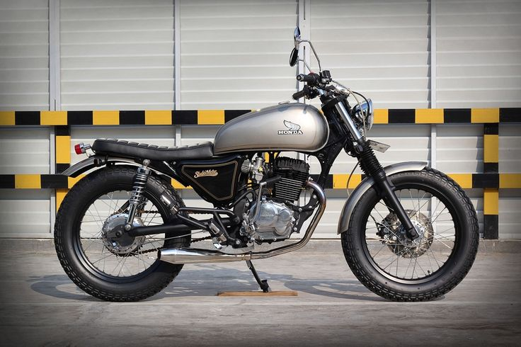 Simple custom Honda GL200 by StudioMotor.com
